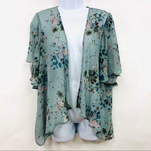 LC Lauren Conrad | Floral Kimonos M
